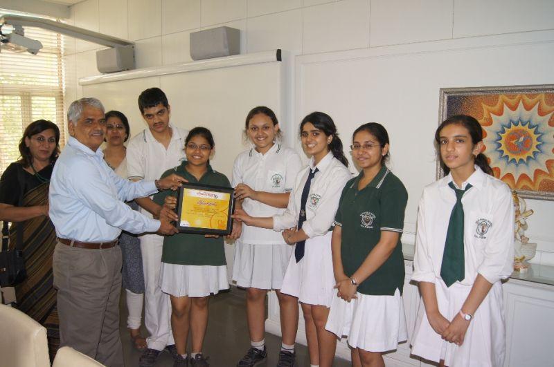 Delhi Public School is a good school in New Delhi.