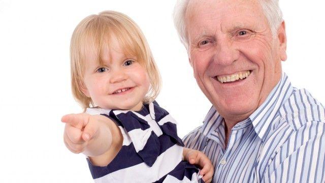 Grandparents are blessing for grandchildren.
