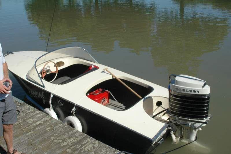 I love boating.