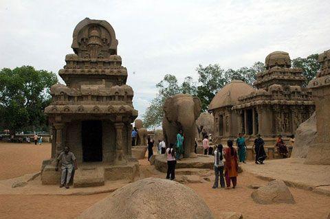 Mamallapuram main tourist attraction in Chennai.