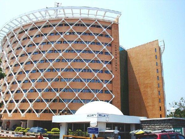 The hub of IT industry in Hyderabad – Hitec city.