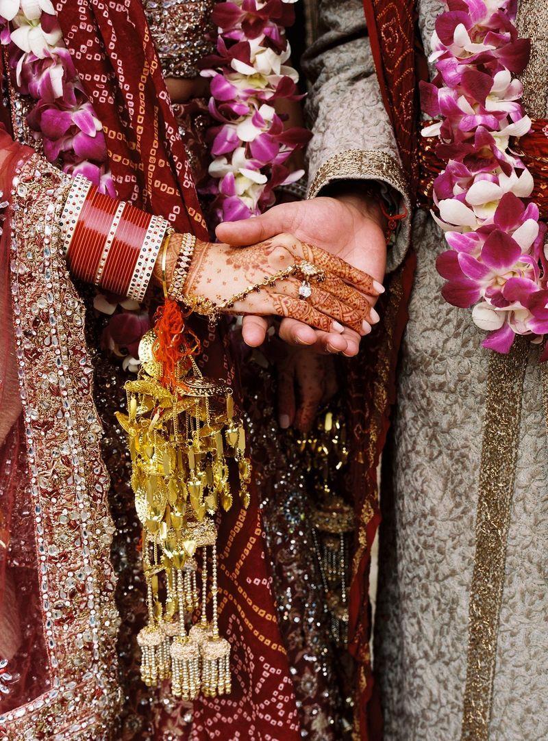 I like the custom of seven rounds 'saath pheras' taken in Hindu weddings.