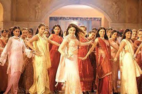 Kareena is a good Bollywood dancer.