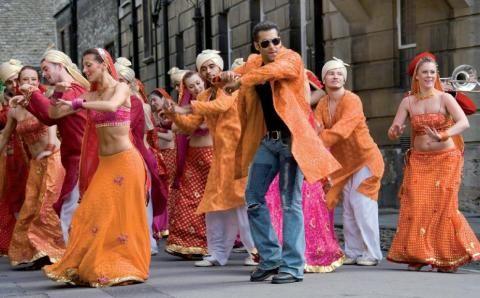 Salman Khan has a unique dancing style.