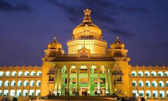 Wonderful palace in Bangalore.