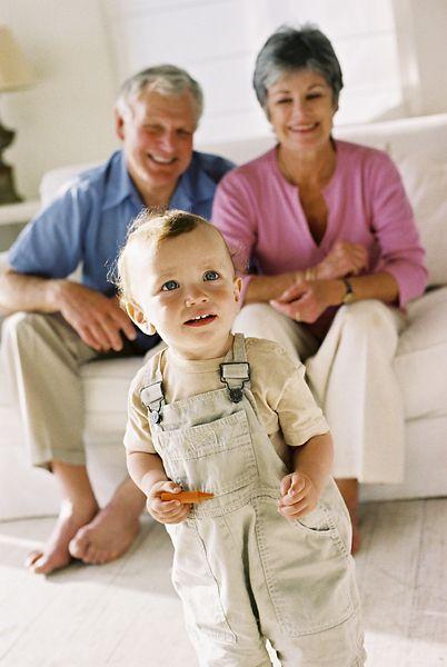 Grandparents love their grandchildren more than their children.