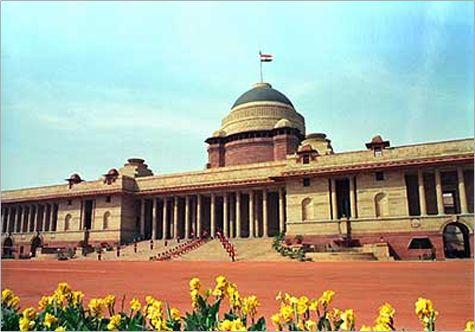 Rashtrapati Bhavan one of symbols of New Delhi.