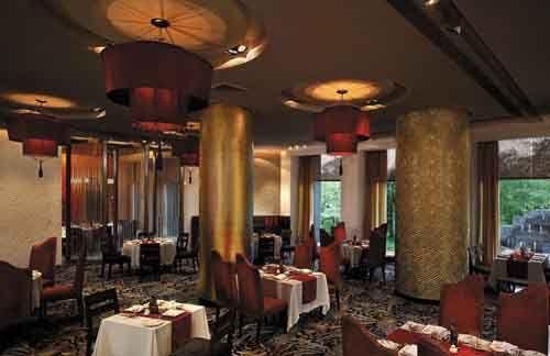 The best hotel in Delhi - Shangrila Hotel.