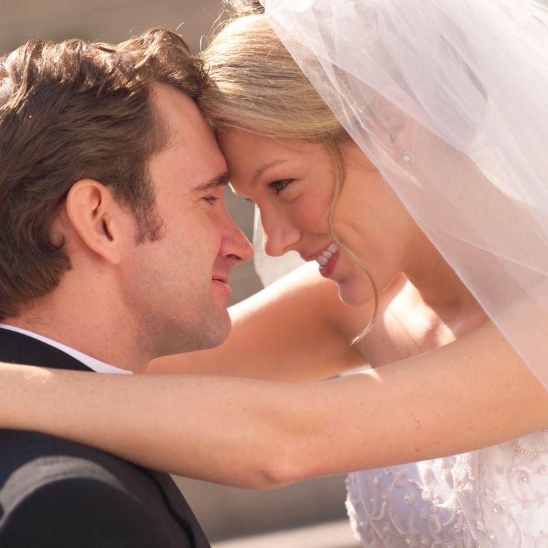 Wonderful post wedding moment.