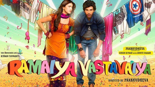 Very nice couple in this movie called Ramaiya vastavaiya.