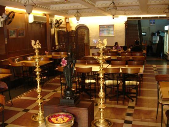 Karaikudi Restaurant a Chettinadu restaurant in Chennai.