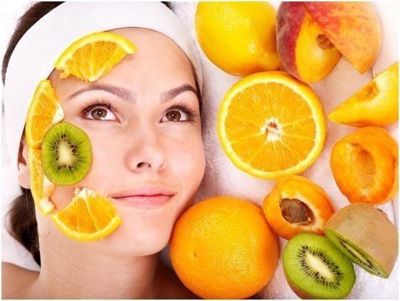 I love fruit facial.