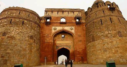 Purana Qila – one of the tourist spots in Ghaziabad.