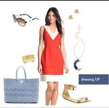 Good shoes and hand-bags, glares, ear rings and bracelets are essentials of dressing up.
