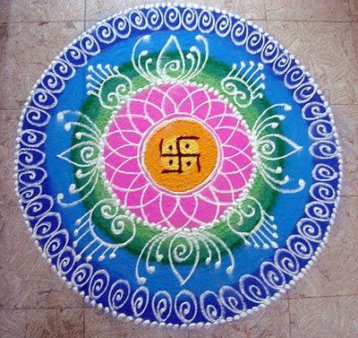 Wonderfull rangoli design...